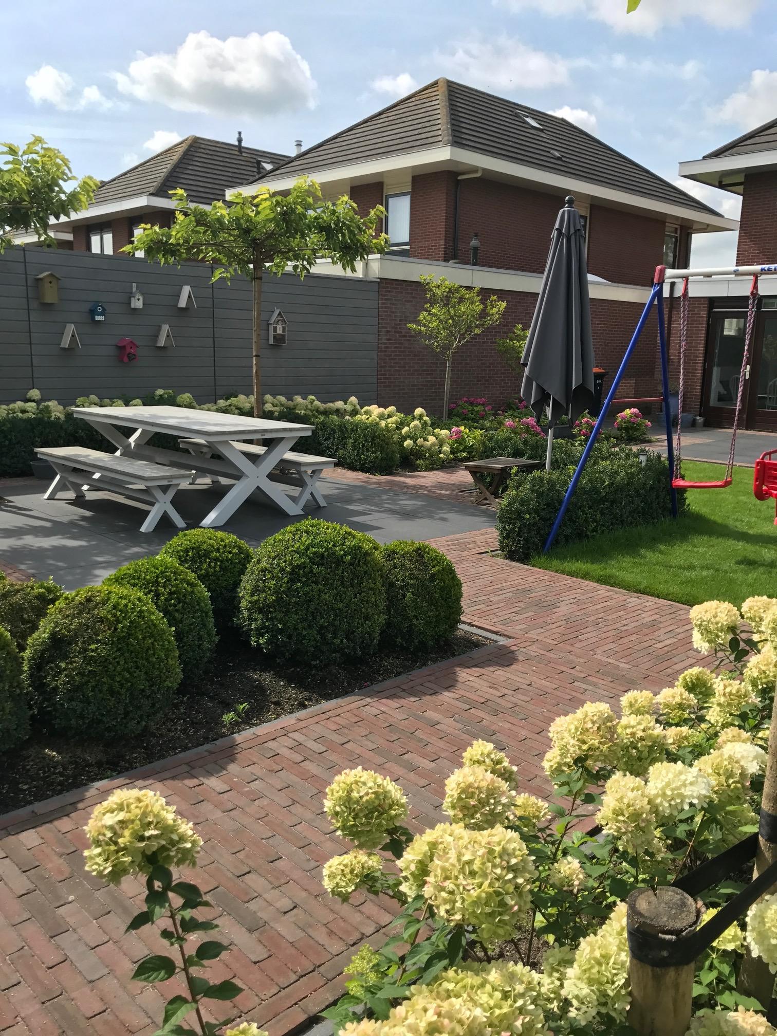 Moderne Tuin in De Goorn